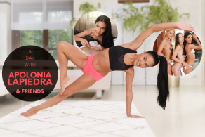 A day with Apolonia Lapiedra & friends