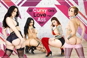 All Curvy Girls Love the Ass Man
